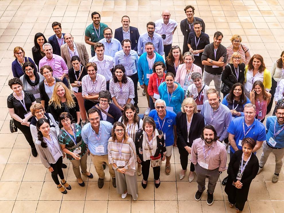 Fotografía de los participantes en el último congreso de Gliomatosis Cerebri.