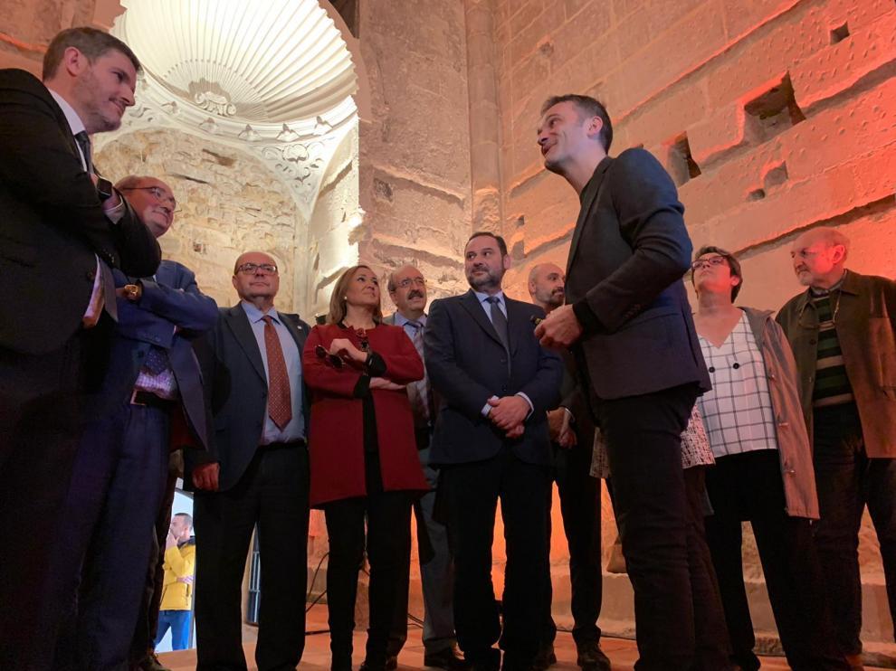 inaugurado este viernes la Inauguración de la rehabilitación de la Torre Gótica de la Iglesia de Santa María la Mayor de Alcañiz.