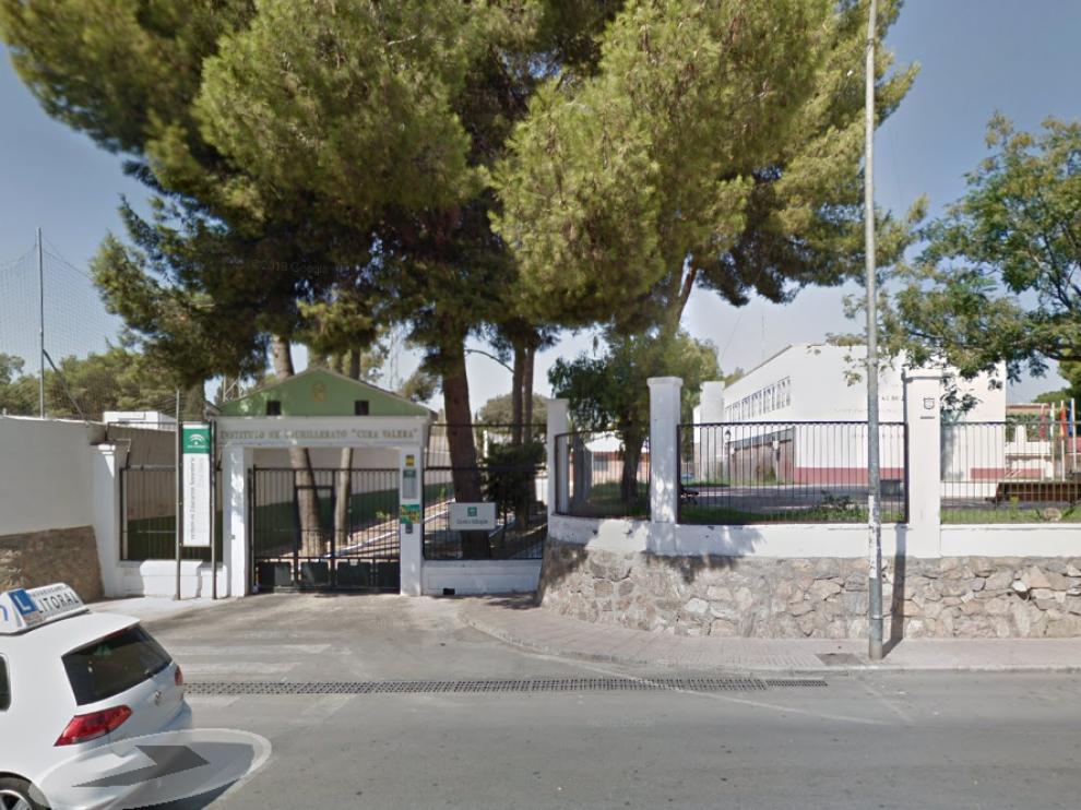 Puerta del instituto de Almería