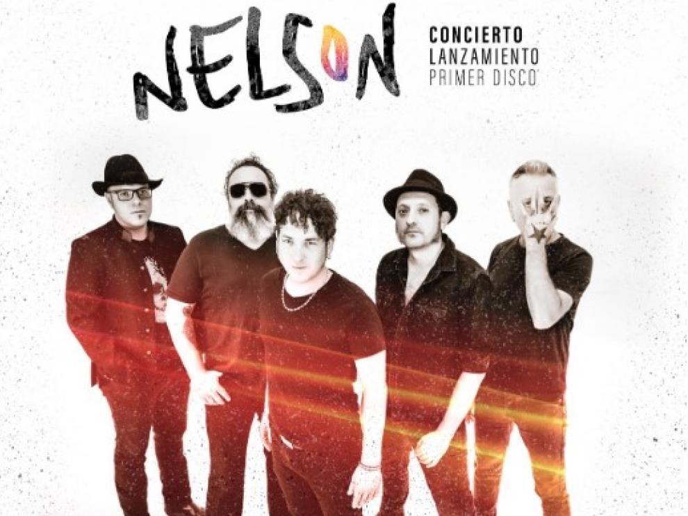 La banda zaragozana Nelson presenta este sábado su primer álbum.
