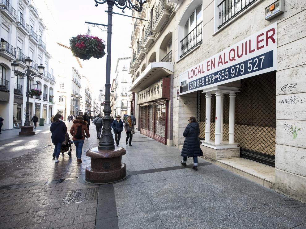 Local en alquiler en la calle Alfonso de Zaragoza.