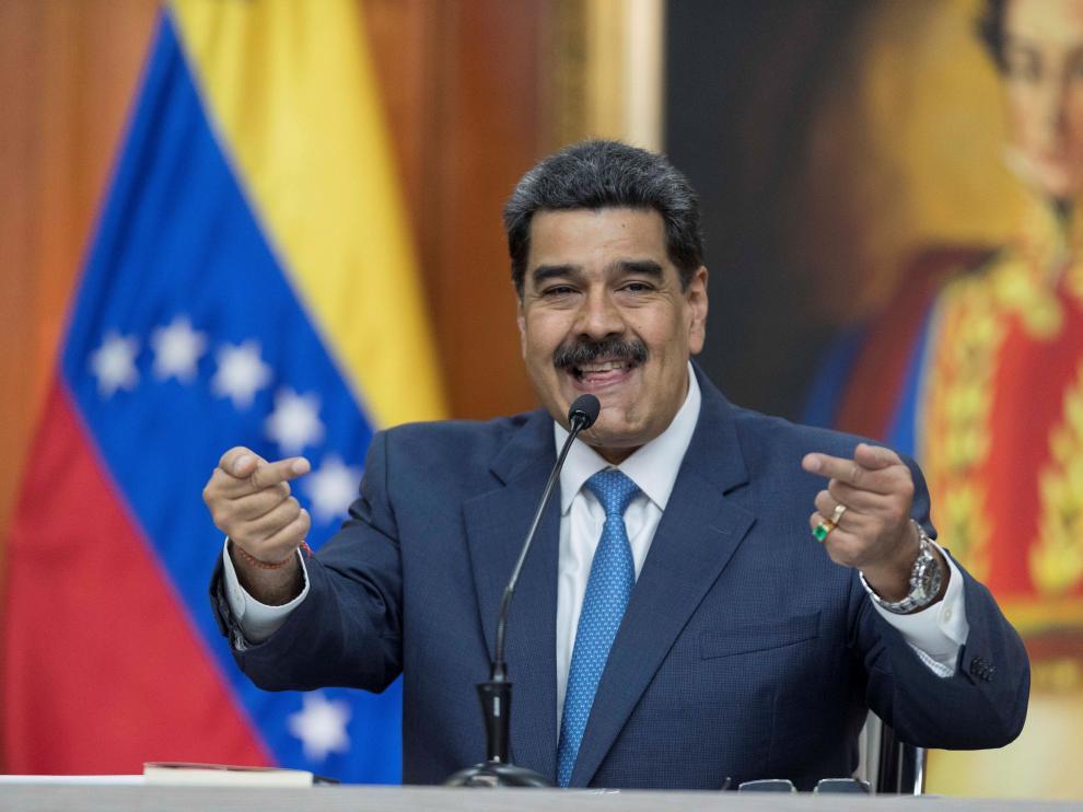 Nicolás Maduro este viernes en Caracas