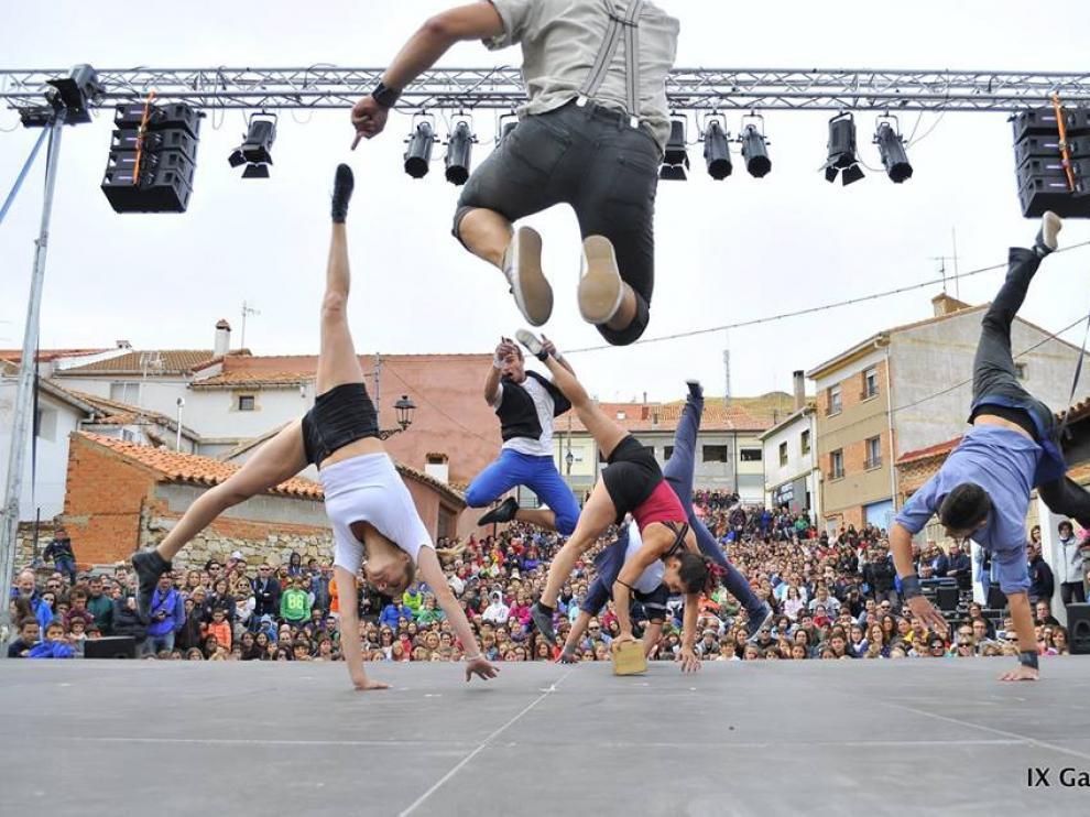 Danza al aire libre con el festival Gaire.