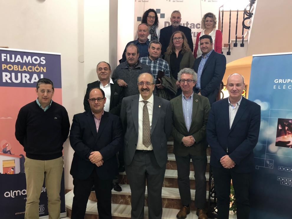 Presentación del proyecto Holapueblo en la Diputación de Teruel.