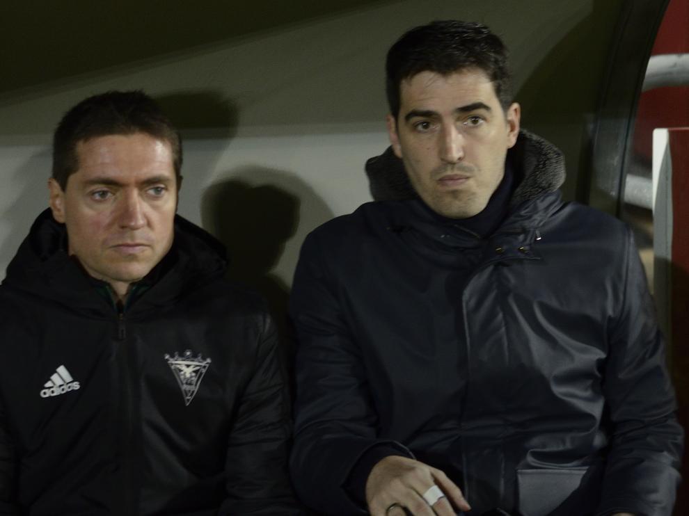 Partido Mirandés-Real Zaragoza disputado en Anduva