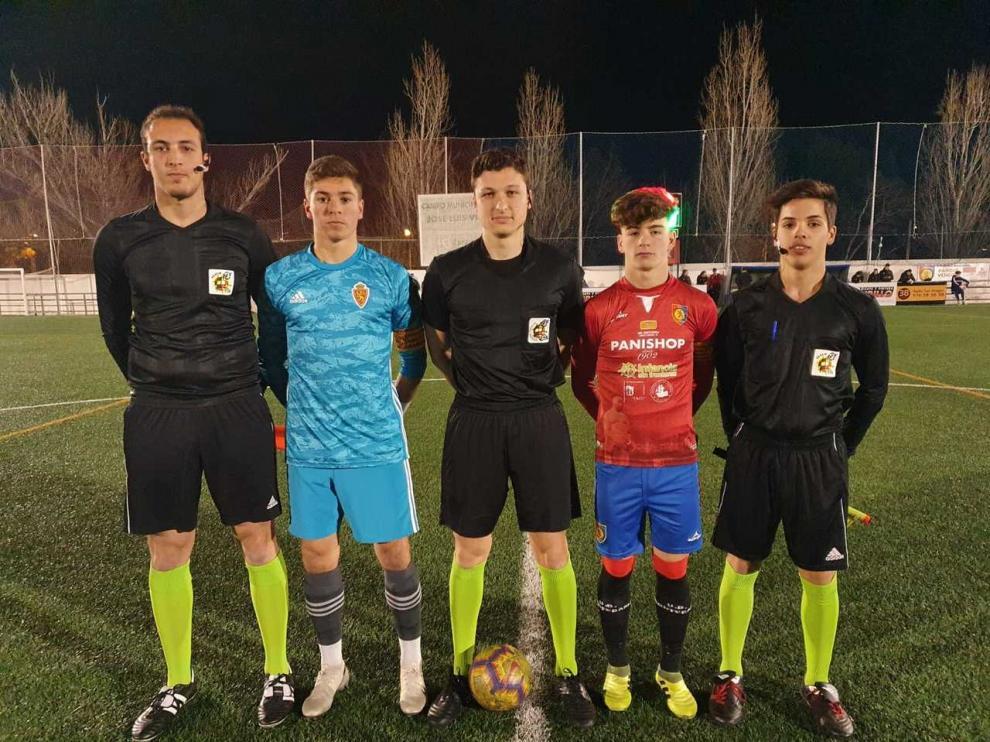 Fútbol. LN Juvenil- Montecarlo vs. Real Zaragoza.