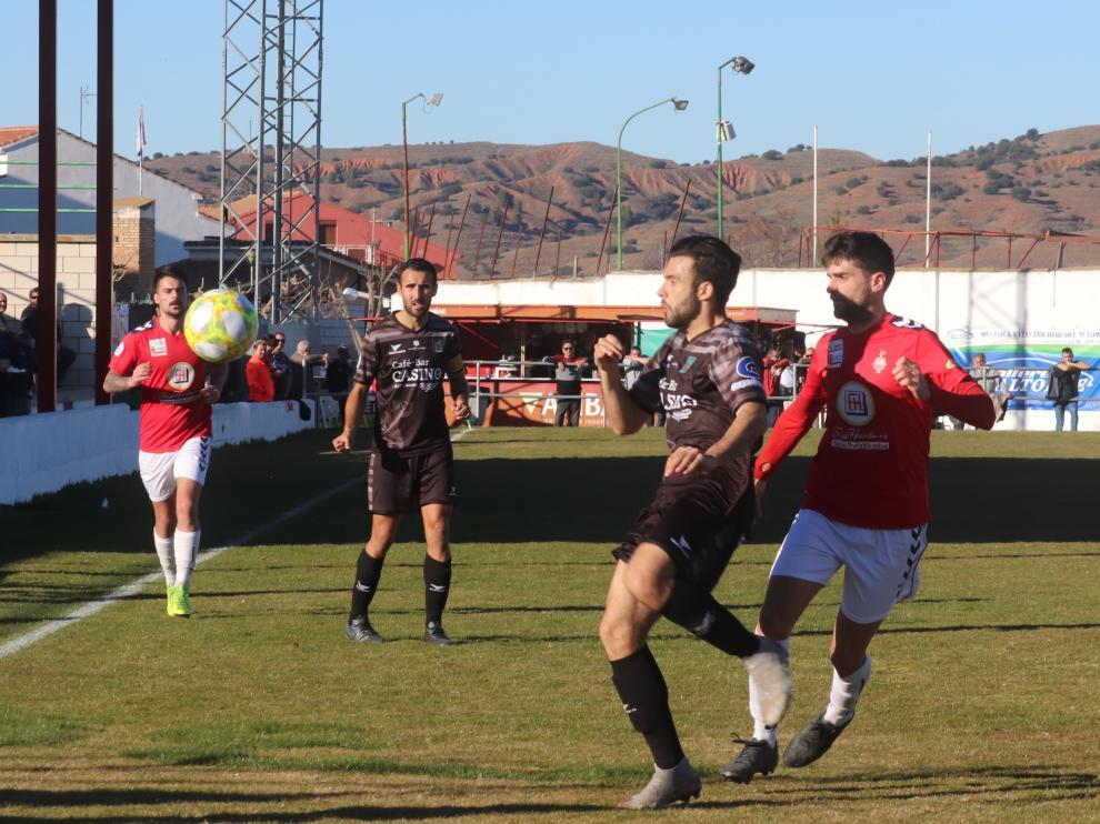 Fútbol Tercera División: Calamocha-Tarazona