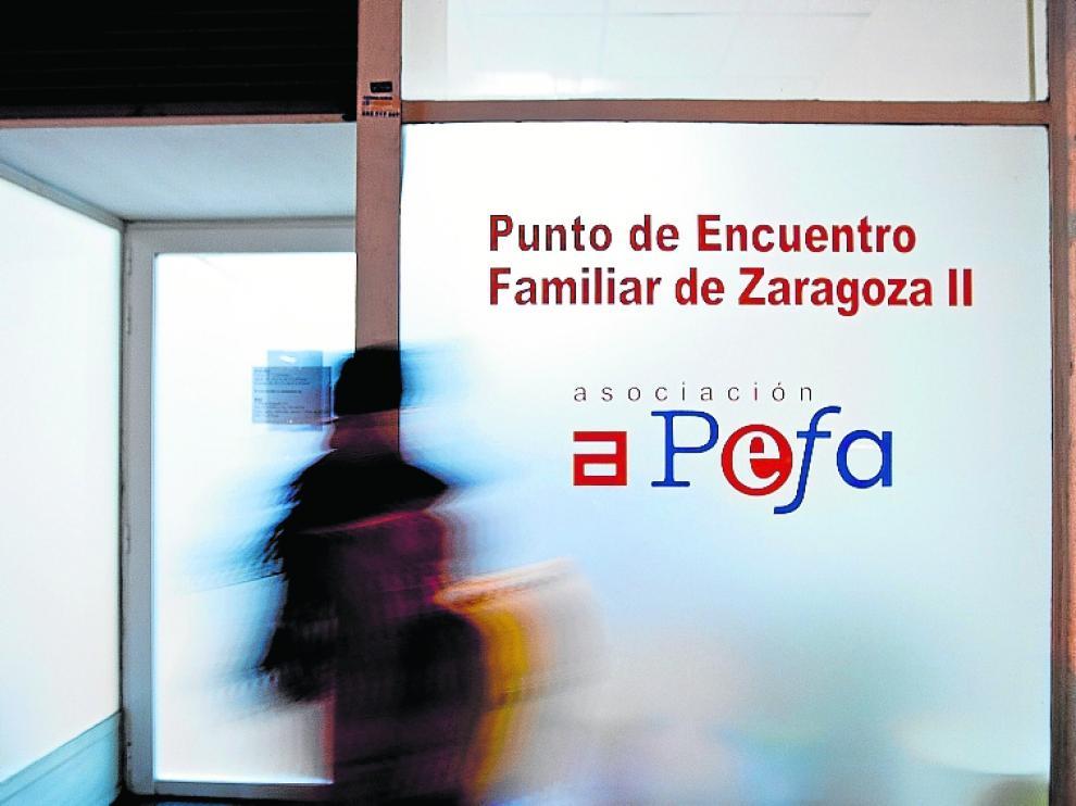 Punto de encuentro familiar, aPefa / 1-2-2011/ Foto: Asier Alcorta [[[HA ARCHIVO]]]