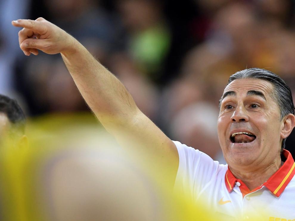 El seleccionadro español, Sergio Scariolo.