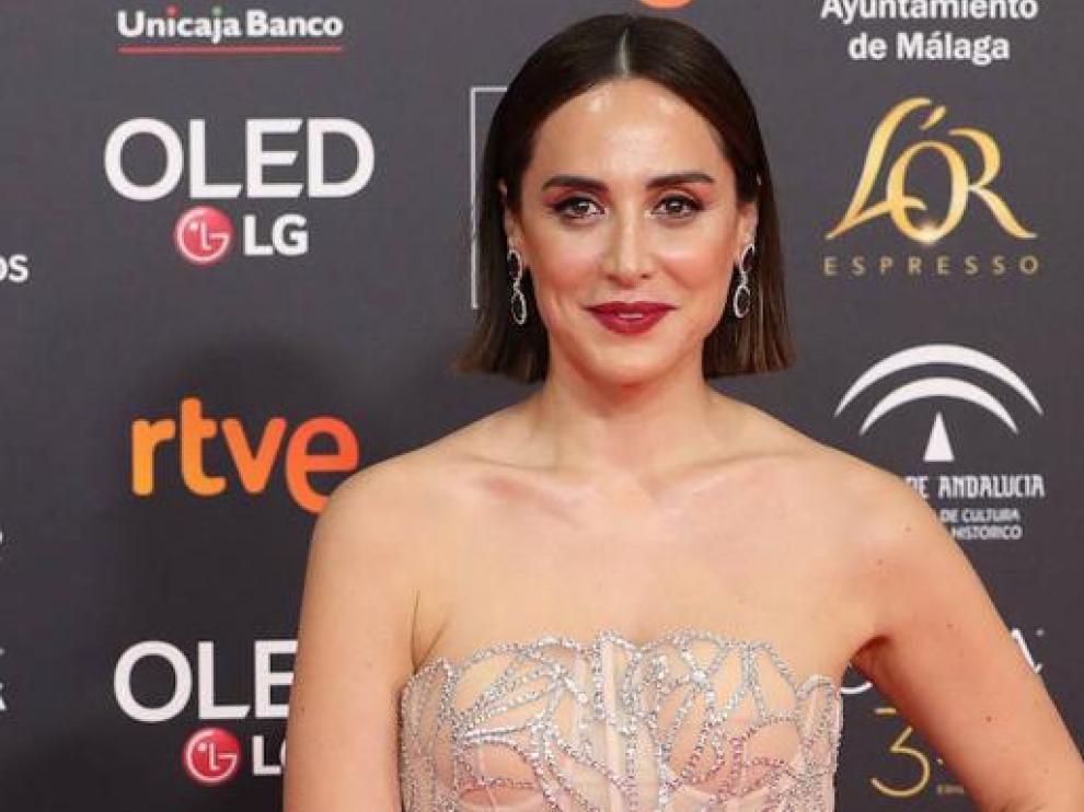 Tamara Falcó en la pasada edición de los Premios Goya