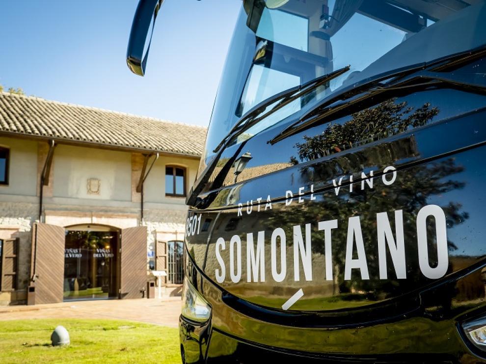 Bus del Vino Somontano.