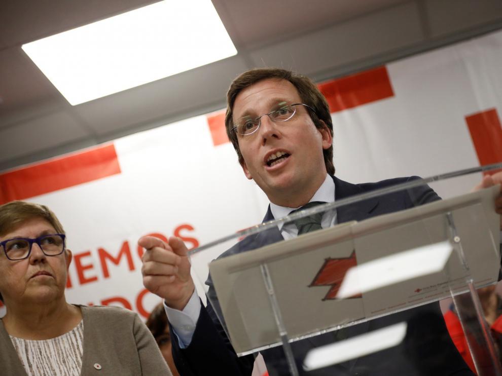 Inauguración del nuevo centro de la Cruz Roja en Madrid
