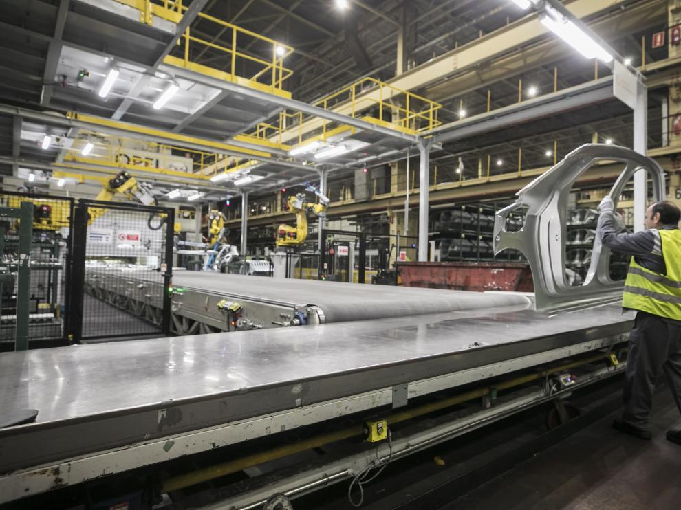 Imagen de la planta de Opel España (PSA) en Figueruelas.