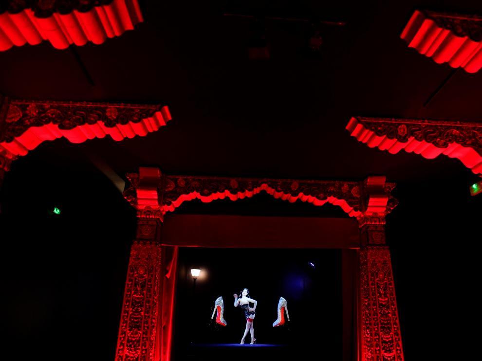 Tacones de suela roja, la marca propia de Louboutin y símbolo de la alta costura