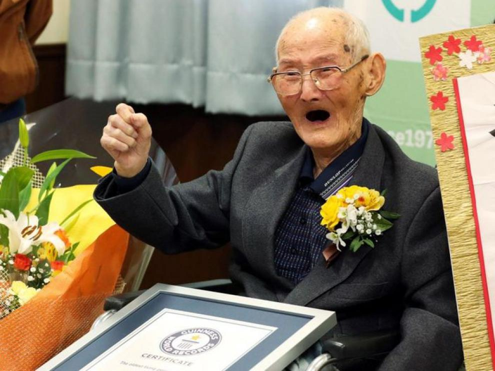 El japonés Chitetsu Watanabe, de 112 años, falleció a los pocos días de haber sido reconocido por la Guinness World Records