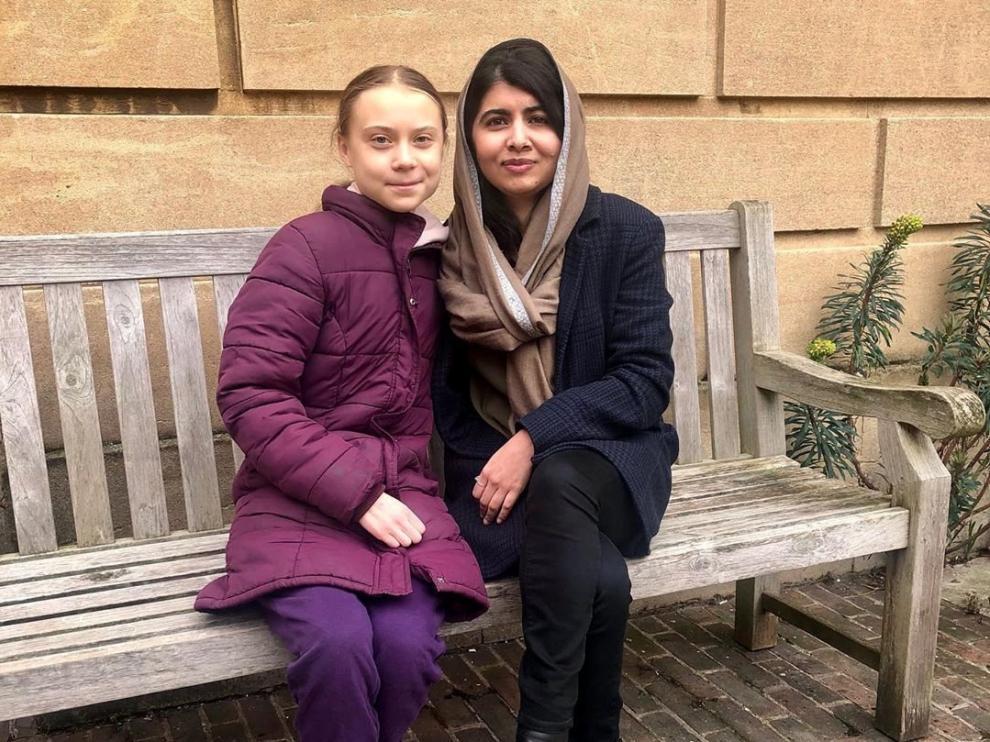 Greta Thunberg y Malala
