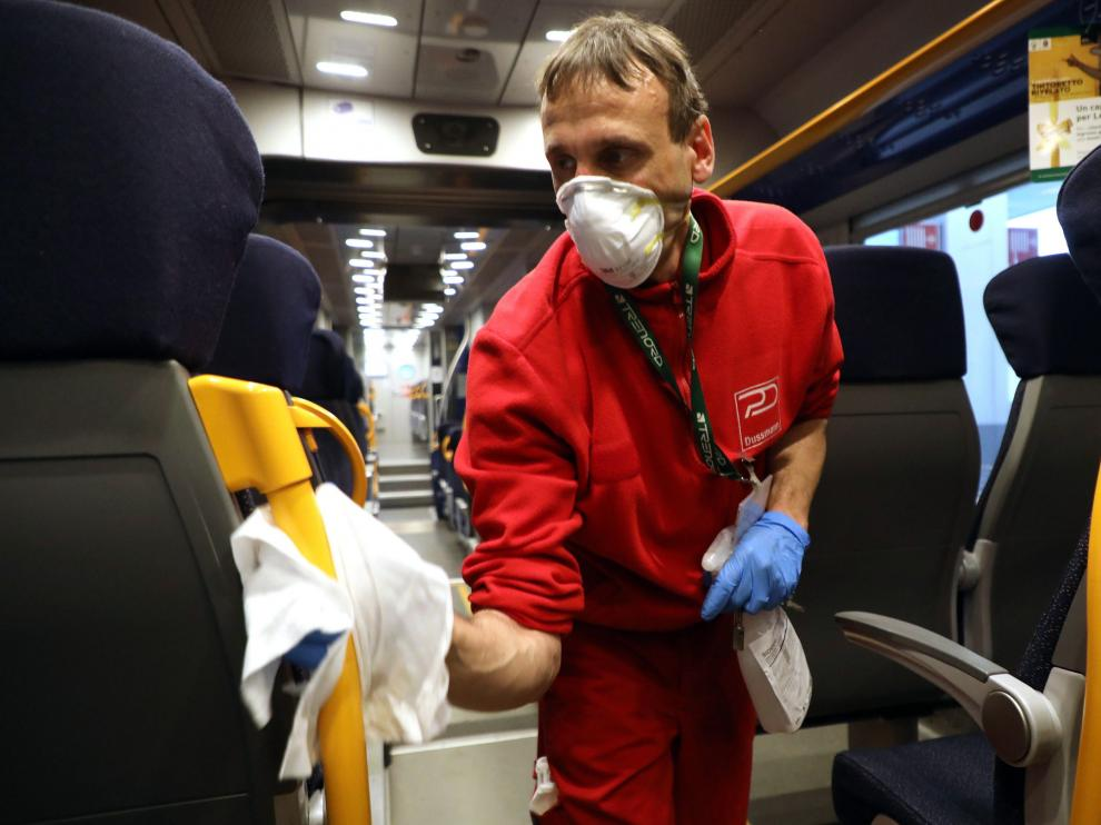 Las autoridades italianas extreman precauciones para evitar nuevos contagios.