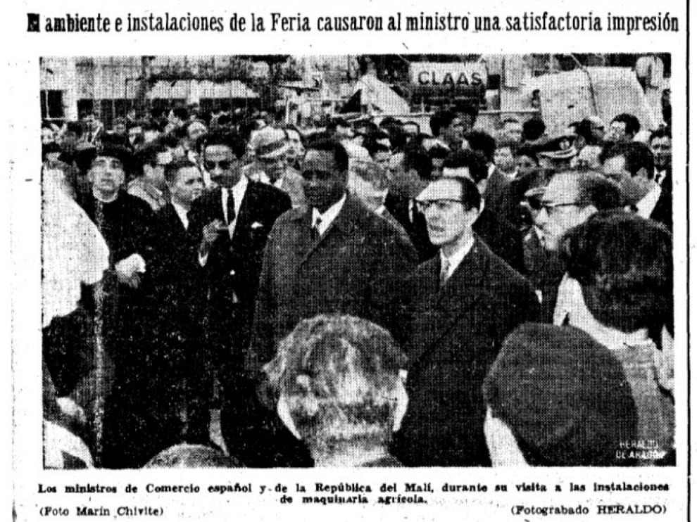 Recorte del HERALDO publicado el 21 de abril de 1964.