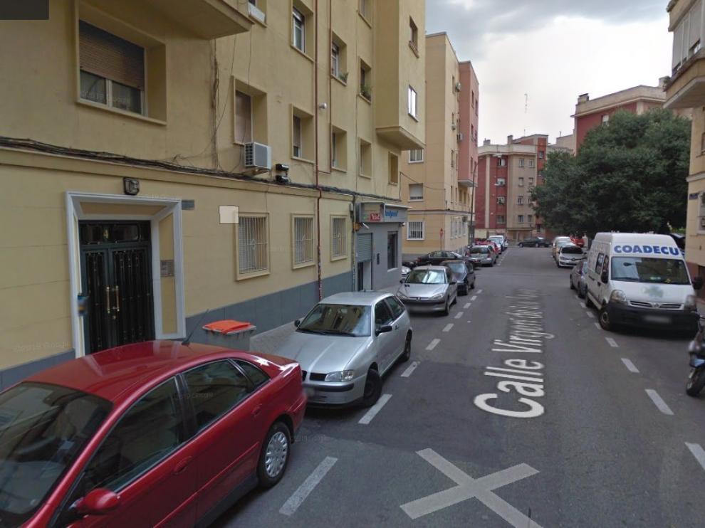 Calle de la Virgen de los Reyes de Madrid, donde han ocurrido los hechos.