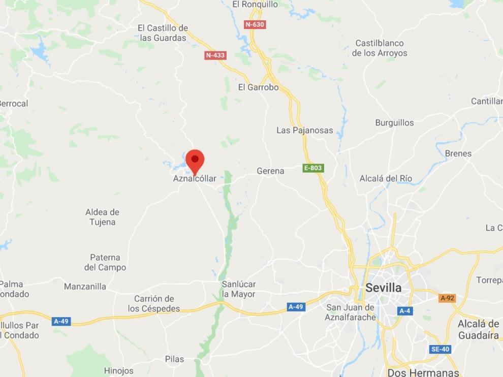 El crimen machista se ha producido en la localidad sevillana de Aznalcóllar.