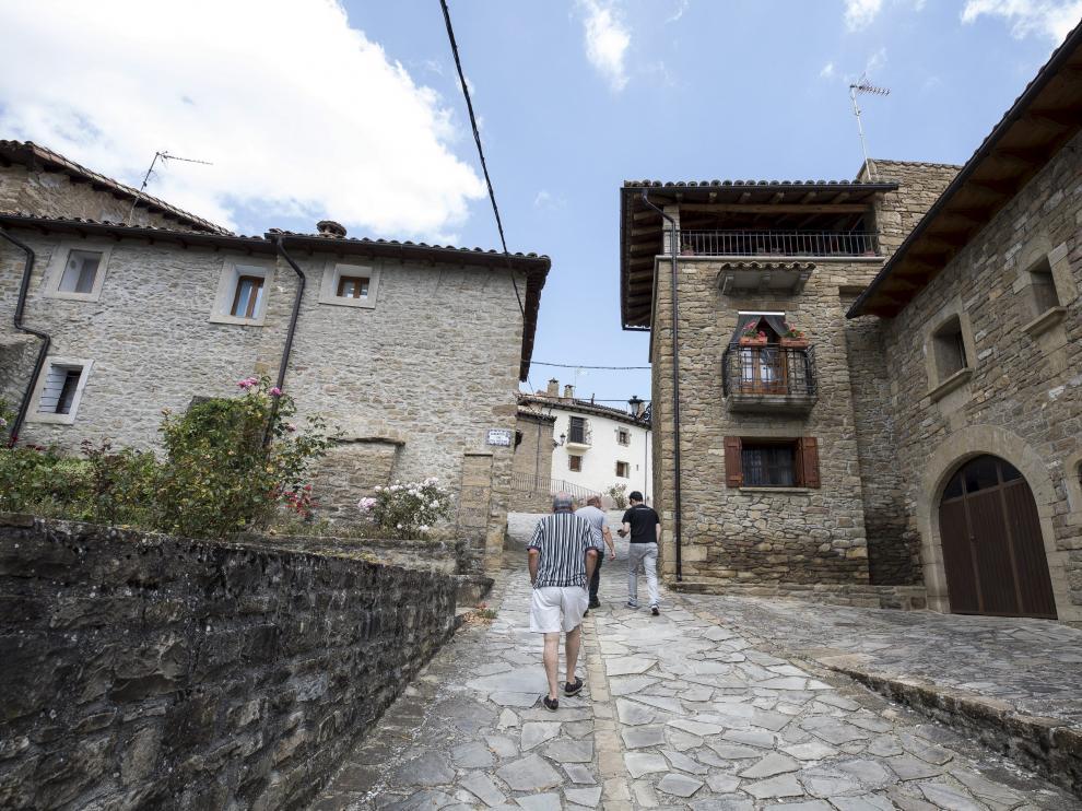 Bagüés, pueblo de las Cinco Villas, tiene 17 habitantes empadronados, según datos del INE