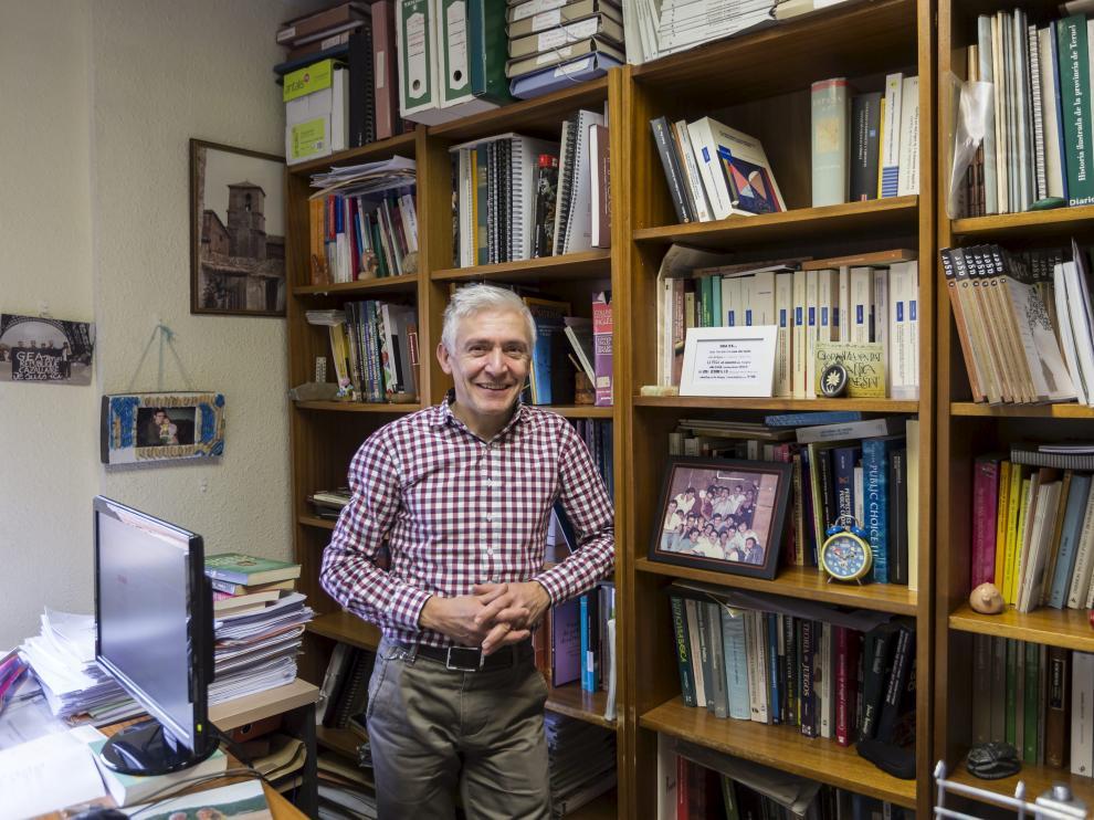 El director de la Cátedra DPZ sobre Despoblación y Creatividad, Luis Antonio Sáez