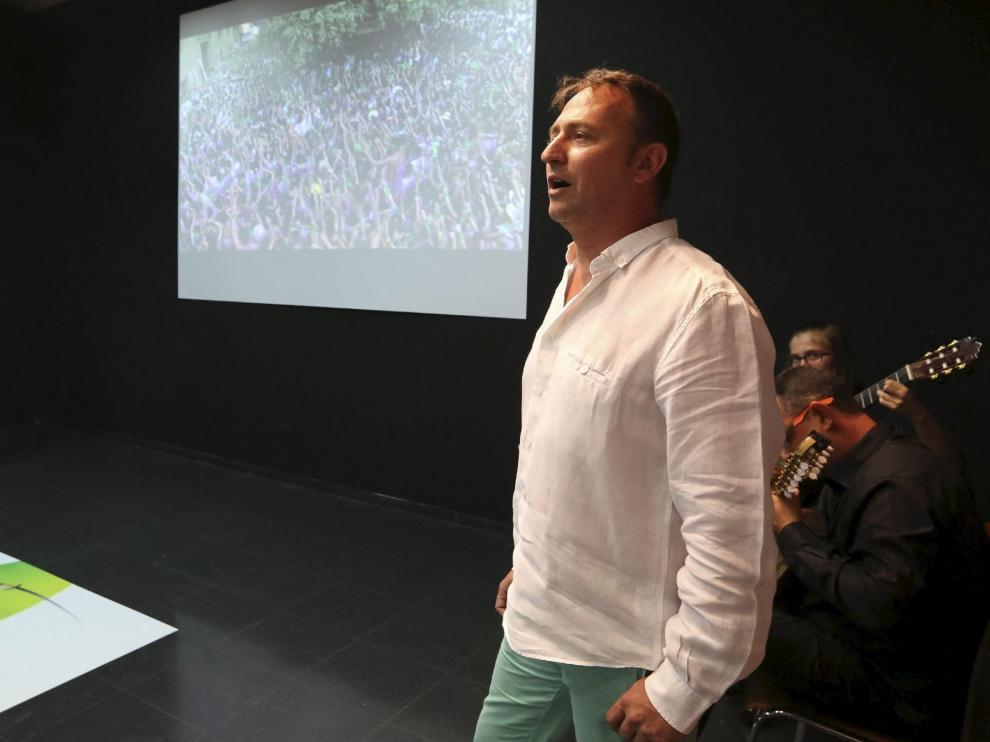 Imagen de archivo de Roberto Ciria, protagonista de la gala.