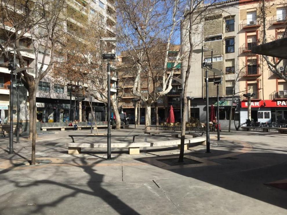 Plaza de San Pedro Nolasco.