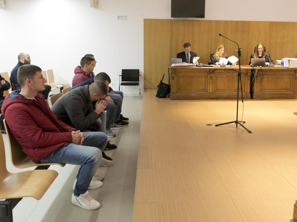 El macro juicio contra la banda de origen albanés se celebró a finales de diciembre en la Audiencia de Huesca.