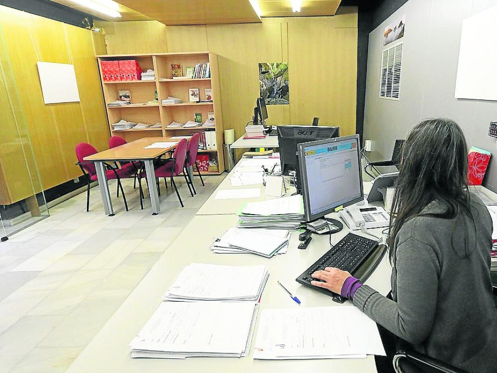 Oficina de Vivienda del Ayuntamiento de Huesca.