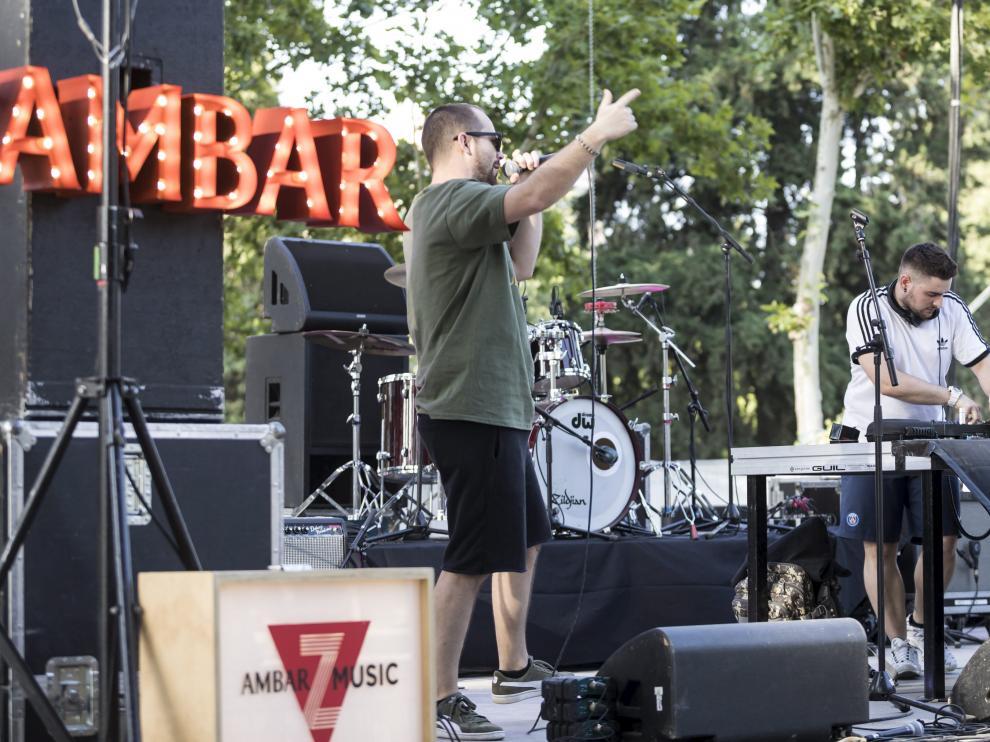 FESTIVAL AMBAR Z MUSIC / PARQUE DEL TIO JORGE ( ZARAGOZA ) / 30/06/2018 / FOTO : OLIVER DUCH [[[FOTOGRAFOS]]] [[[HA ARCHIVO]]]