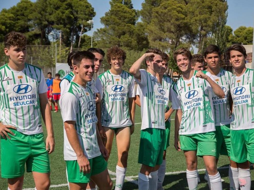 Olivar celebrando la victoria