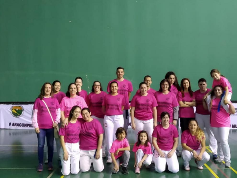 primer acto de Mujeres al Frontón, organizado desde la comisión de Mujer y Pelota de nuestra Federación.