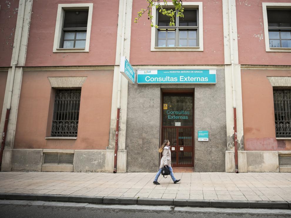 Imagen de archivo del Hospital Provincial de Zaragoza