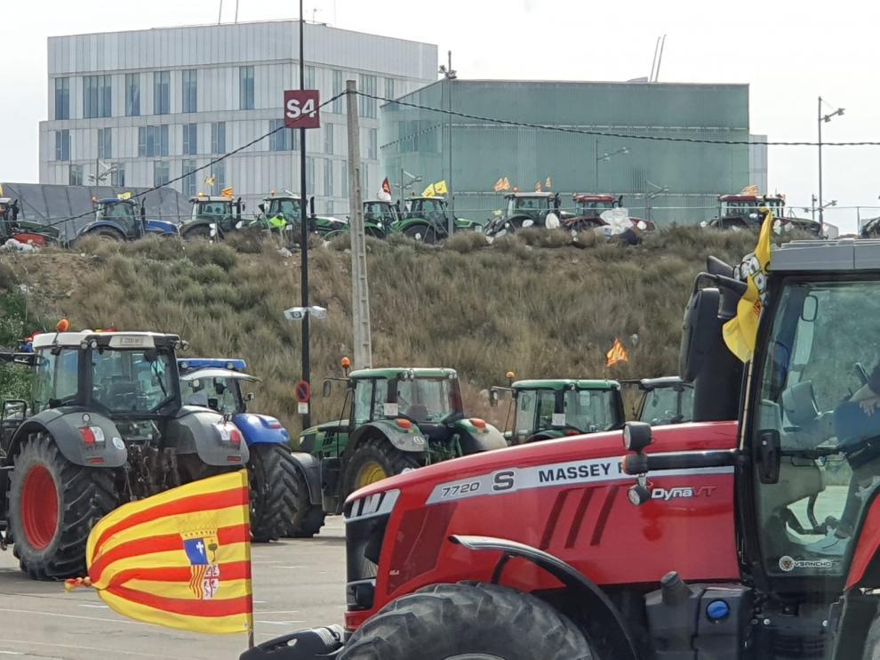 Los tractores toman este martes el centro de Zaragoza