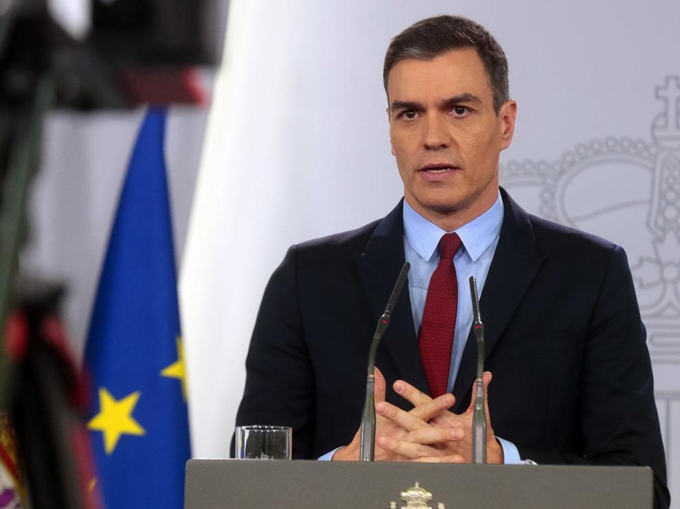 Pedro Sanchez on COVID-19