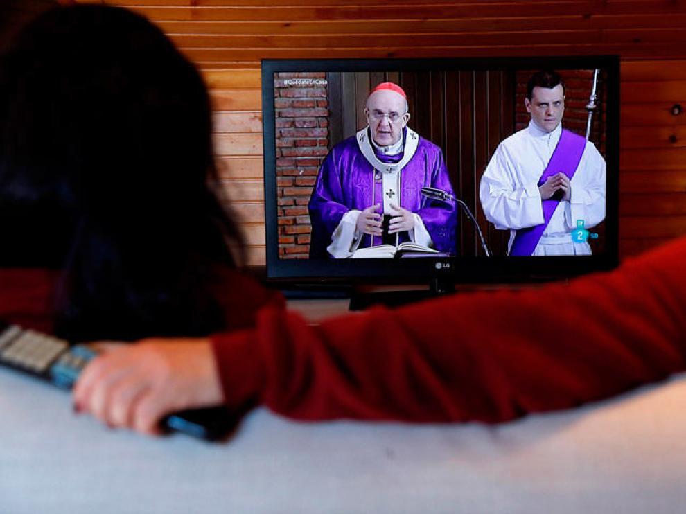 Misa por televisión