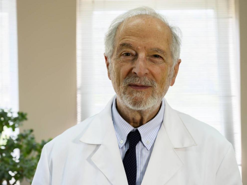Luis Enjuanes, en el Centro Nacional de Biotecnología (CNB/CSIC).