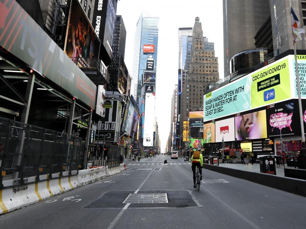 New York City Coronavirus reacts