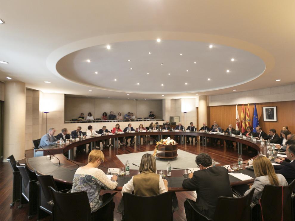Pleno de la DPH. Despedida diputados / 6-6-19 / Foto Rafael Gobantes [[[FOTOGRAFOS]]] [[[HA ARCHIVO]]]