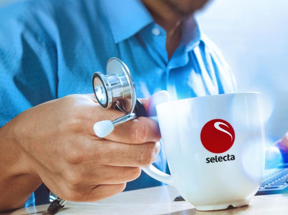 Selecta ofrece café gratis a los sanitarios durante la crisis.