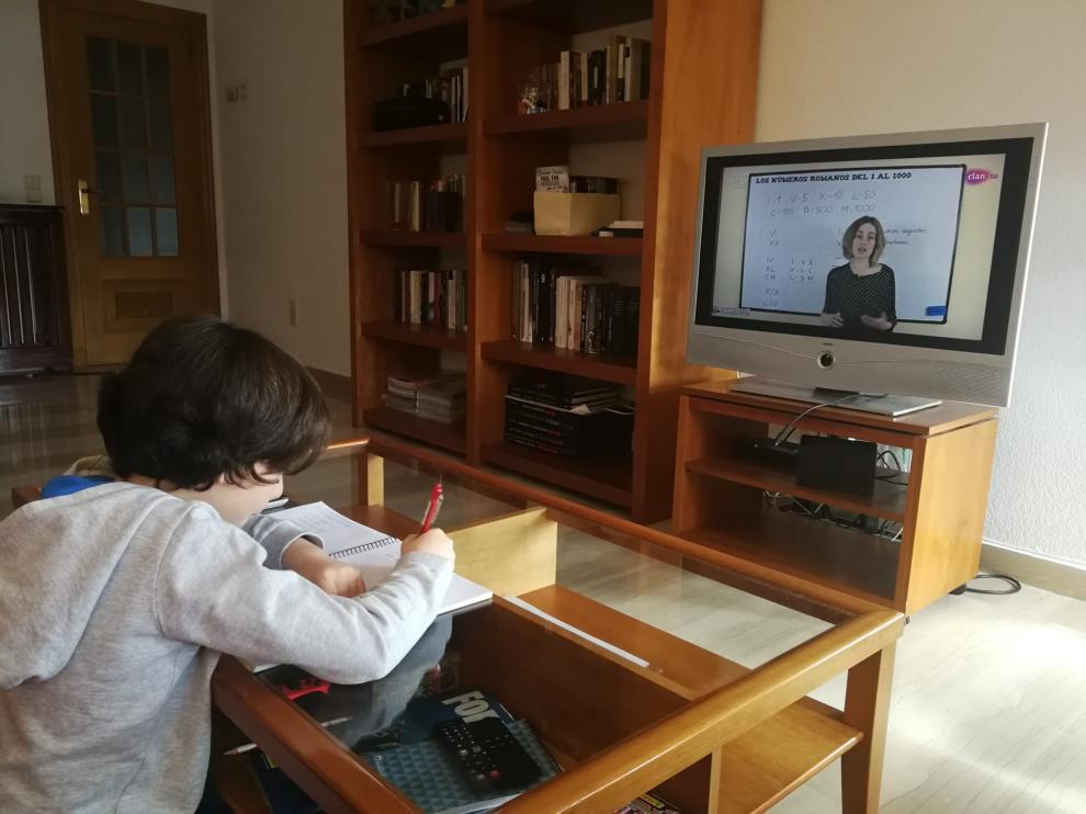 Telecolegio en TVE