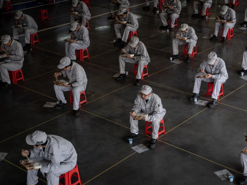 Industrial activity in Wuhan resumes after coronavirus lockdown