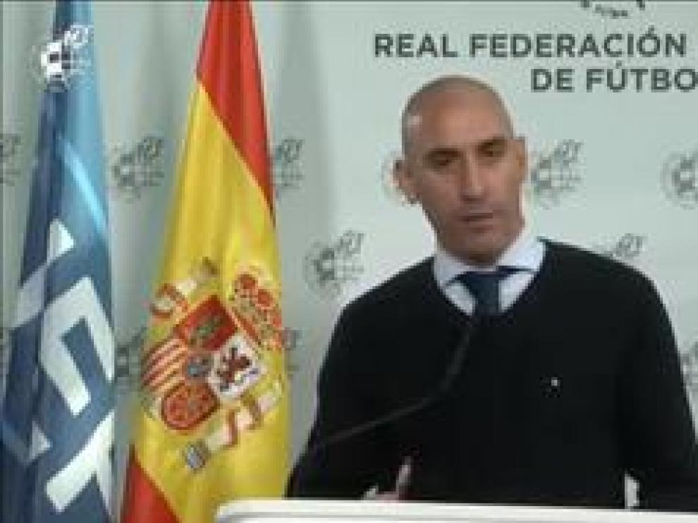 """""""Queremos que las competiciones acaben con las mismas reglas con las que empezaron"""", explica el presidente de la Federación Española de Fútbol"""