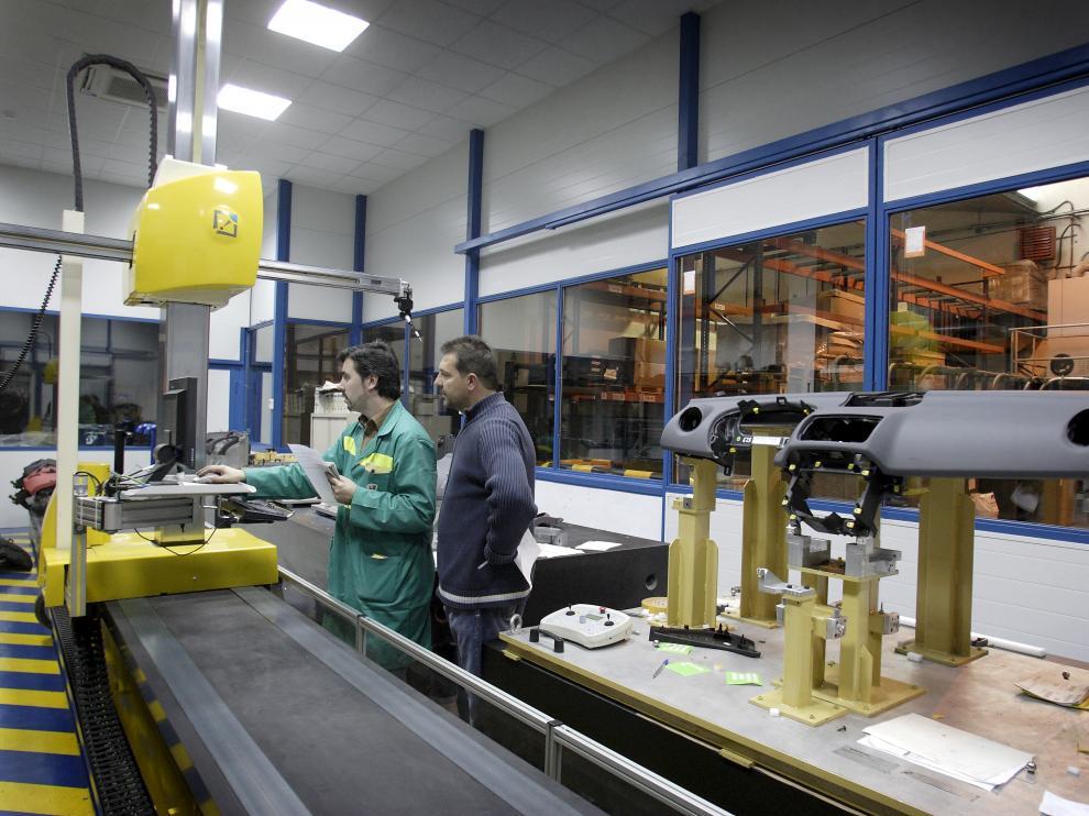Imagen de archivo de la fábrica de Cefa en el polígono Malpica de Zaragoza.