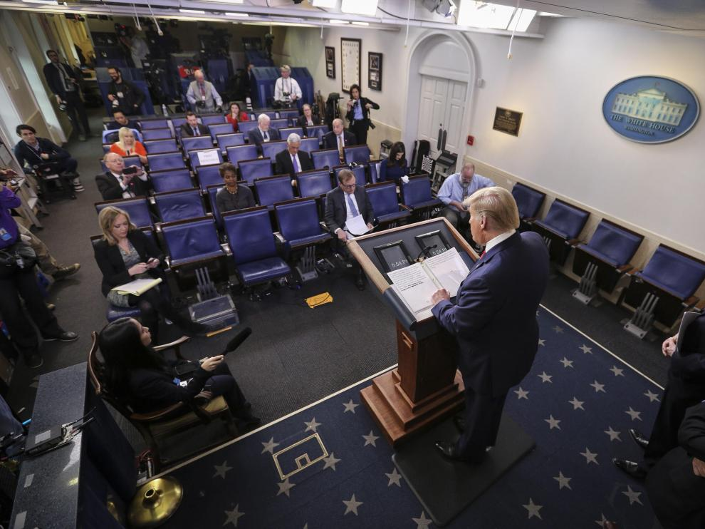 President Trump and Members of the Coronavirus Task Force hold a press briefing