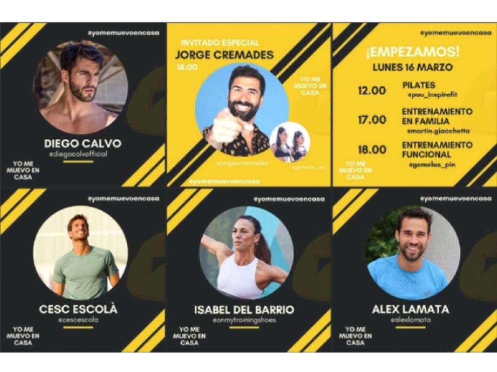 #Yomemuevoencasa, una iniciativa para incentivar el deporte.