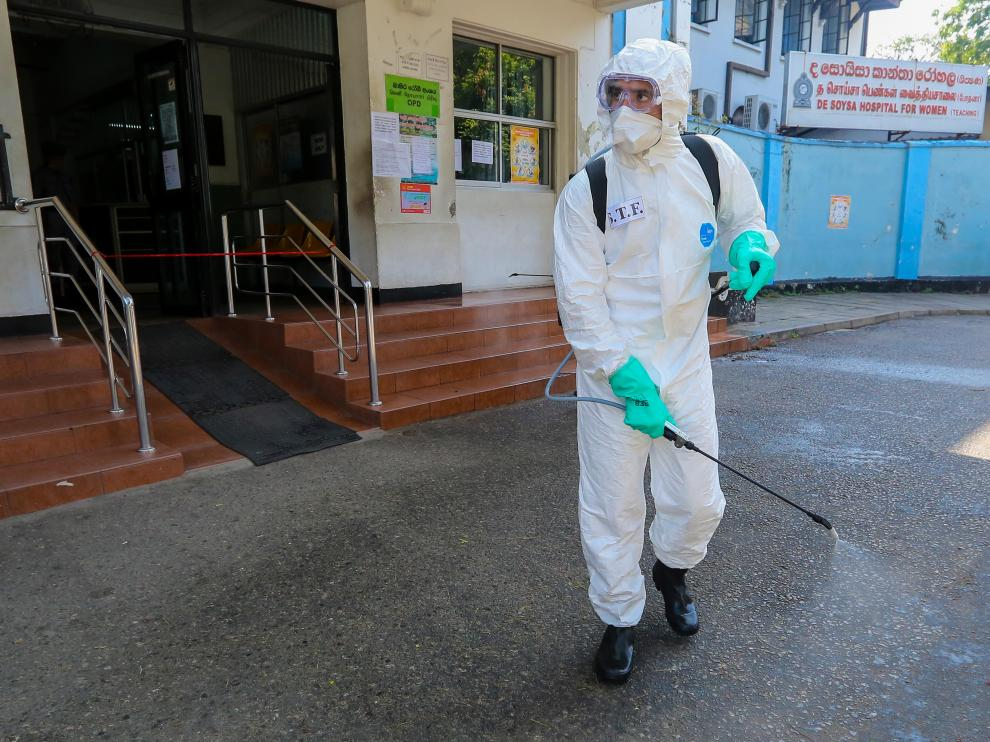 Daily life amid Coronavirus COVID-19 pandemic in Sri Lanka