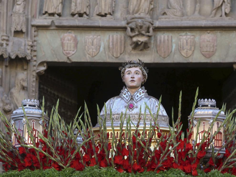 Huesca Televisión retransmitirá la misa desde la Basílica de San Lorenzo