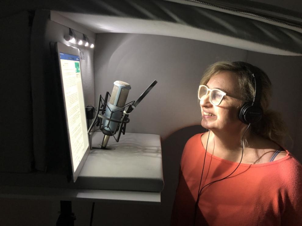 Carmen Sánchez en la lectura de las 'Cartas desde mi casa', el abrazo virtual a enfermos de coronavirus y sus familias